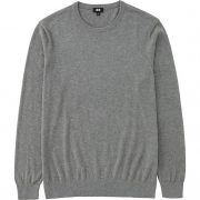 MEN COTTON CASHMERE CREWNECK SWEATER 5