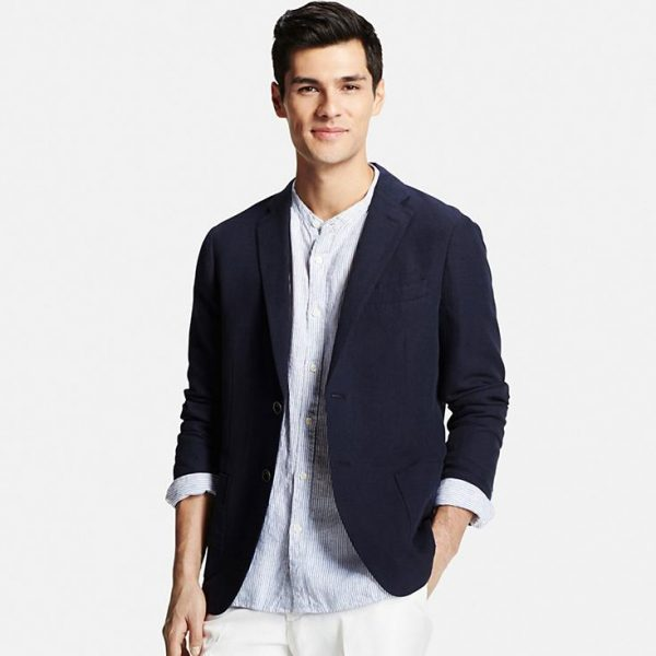MEN LINEN COTTON JACKET